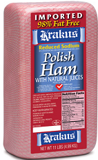 Polish Deli Ham $1 off One Pound+ of Krakus Polish Deli Ham Coupon