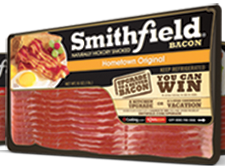 Smithfield Bacon $1 off Smithfield Bacon Coupon
