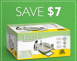 picture relating to Tidy Cat Coupons Printable identify $7 off Breeze Manufacturer versus Purina Tidy Cats Manufacturer Clutter