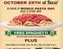 Buca FREE Spaghetti
