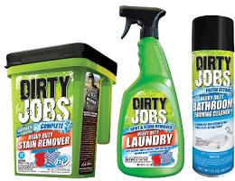 Dirty jobs cleaning products coupons