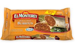 El Monterey Family Pack Burritos $1 off El Monterey Family Pack Burritos Coupon