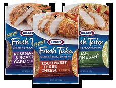 KRAFT Fresh Take Cheese Breadcrumb Mix1 $0.99 off Kraft Fresh Take Cheese and Breadcrumb Mix Coupon