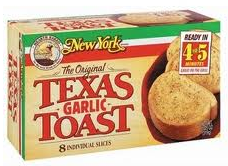 New York Brand Frozen Bread Product $0.50 off New York Brand Frozen Bread Product Coupon