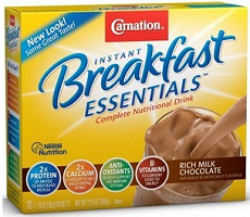 Carnation Breakfast1 $2 off Carnation Breakfast Essentials Coupon