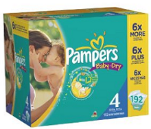 Pampers Baby Dry Diapers1 2 NEW Pampers Coupons