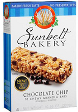 Sunbelt Bakery Family Pack Box $0.55 off Sunbelt Bakery Product Coupon