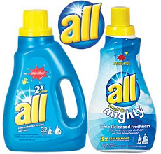 All Laundy Detergent1 $1 off ANY All Laundry Detergent Coupon