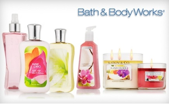 Bath and Body Works11 Bath & Body Works:  FREE Item with $10 Purchase Coupon