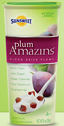 SunSweet $1 off Sunsweet Plum Amazins Diced Dried Plums Coupon
