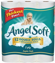 Angel Soft Bath Tissue11 $1 off Angel Soft Bath Tissue Product Coupon