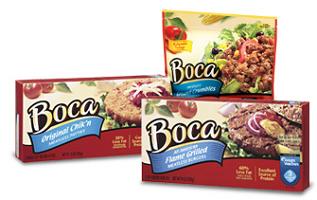 BOCA Meatless Product $1 off BOCA Meatless Product Coupon