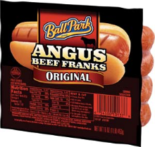 Ball Park $1 off 2 Ball Park Hot Dogs Coupon