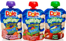 Dole Fruit Squish ems $1 off Dole Fruit Squishems Coupon