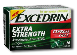 Excedrin Extra Strength $1 off ANY Excedrin 24 Count+ Product Coupon
