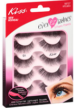 Kiss EverEZLashes1 $1 off Kiss EverEZLashes Coupon