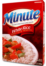 Minute Rice $0.50 off Minute Rice Product Coupon