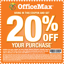 Office Max Coupon