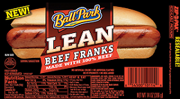 Ball Park Lean Hot Dogs $0.75 off Ball Park Lean Hot Dogs Coupon