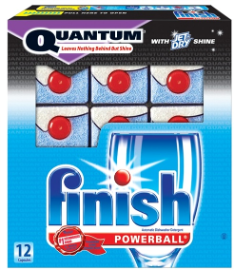 Finish Quantram $0.75 off Finish Dishwasher Detergent Coupon
