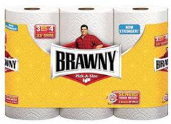 3 Big Roll Brawny Paper Towels $1 off Brawny 2 Giant Roll+ Coupon