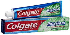 Colgate Maxfresh Toothpaste $1 off Colgate Total, Optic White, Max Fresh or Sensitive Toothpaste Coupon