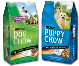 Purina Puppy and Dog $0.99 off 1 Bag of Dog Chow or Puppy Chow Coupon