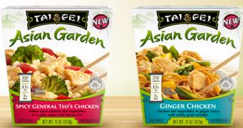Tai Pei Asian Garden Single Serve Entree BOGO FREE Tai Pei Asian Garden Single Serve Entree Coupon = $0.77 at Target