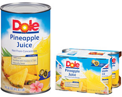 DOLE Canned Juices $0.65 off 2 DOLE Canned Juices Coupon