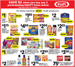 Dollar General Kraft Dollar General Kraft Promotion = $1 Kool Aid Jammers and $0.10 Velveeta Toppers