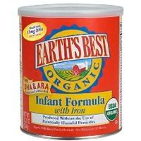 Earths Best Infant Formula $5 off Earths Best Infant Formula Coupon