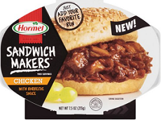 Hormel Sandwich Maker1 $1 off ANY Hormel Sandwich Makers Product Coupon