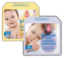 Johnsons Baby Washcloths product $1 off ANY Johnsons Baby Washcloths Product Coupon