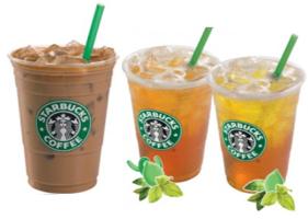 Starbucks-Iced-beverages