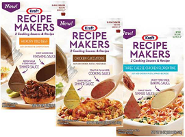 Kraft Recipe Makers Product $1 off Kraft Recipe Makers Product Coupon