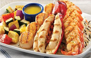 Signature Combination Entrees Red Lobster: $10 off 2 Signature Combination Entrees Coupon
