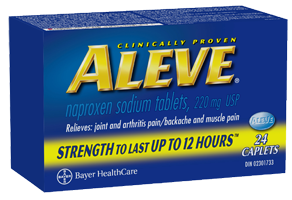 Aleve $2.00 off Any Aleve Coupon