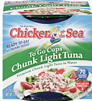 Chicken of the Sea To Go Cup 2 Pack $0.50 off Chicken of the Sea To Go Cup 2 Pack Coupon