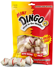 Dingo Mini Bone Product $1.25 off ANY Dingo Brand Item Coupon