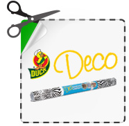 Duck Brand Deco Laminate $0.50 off Duck Brand Deco Laminate Coupon
