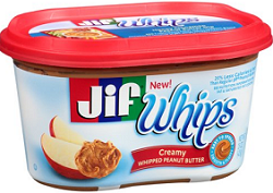 Jif Whipped Peanut Butter Spread