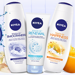 graphic regarding Nivea Printable Coupons called 3 Clean NIVEA Merchandise Discount codes - Hunt4Freebies