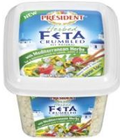 President Feta Cheese $3 off ANY 2 President Feta and/or Valbreso Feta Cheeses Coupon