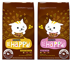 Purina Be Happy Food $1 off Purina Be Happy Dog or Cat Food Coupon