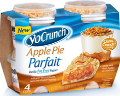 YoCrunch Apple Pie Parfait 4-Pack