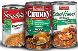 Campbells Healthy Request Soups $1 off 3 Campbells Healthy Request Soups Coupon