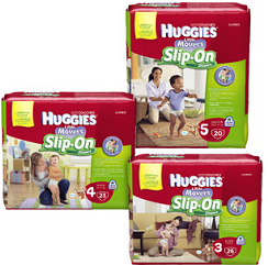 Huggie Little Movers $3 off Huggies Little Movers Slip on Diapers at CVS