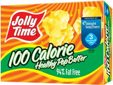 Jolly Time Healthy Pop Microwave Popcorn $1 off 2 Jolly Time Healthy Pop Microwave Popcorn Coupon