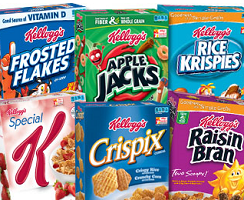 Kelloggs Cereal 14 NEW Kellogg's Product Coupons
