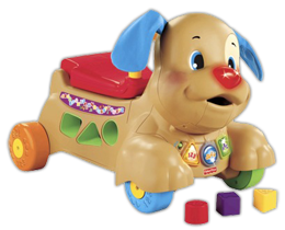Laugh and Learn Stride to Ride Puppy $93 in NEW Fisher Price Coupons